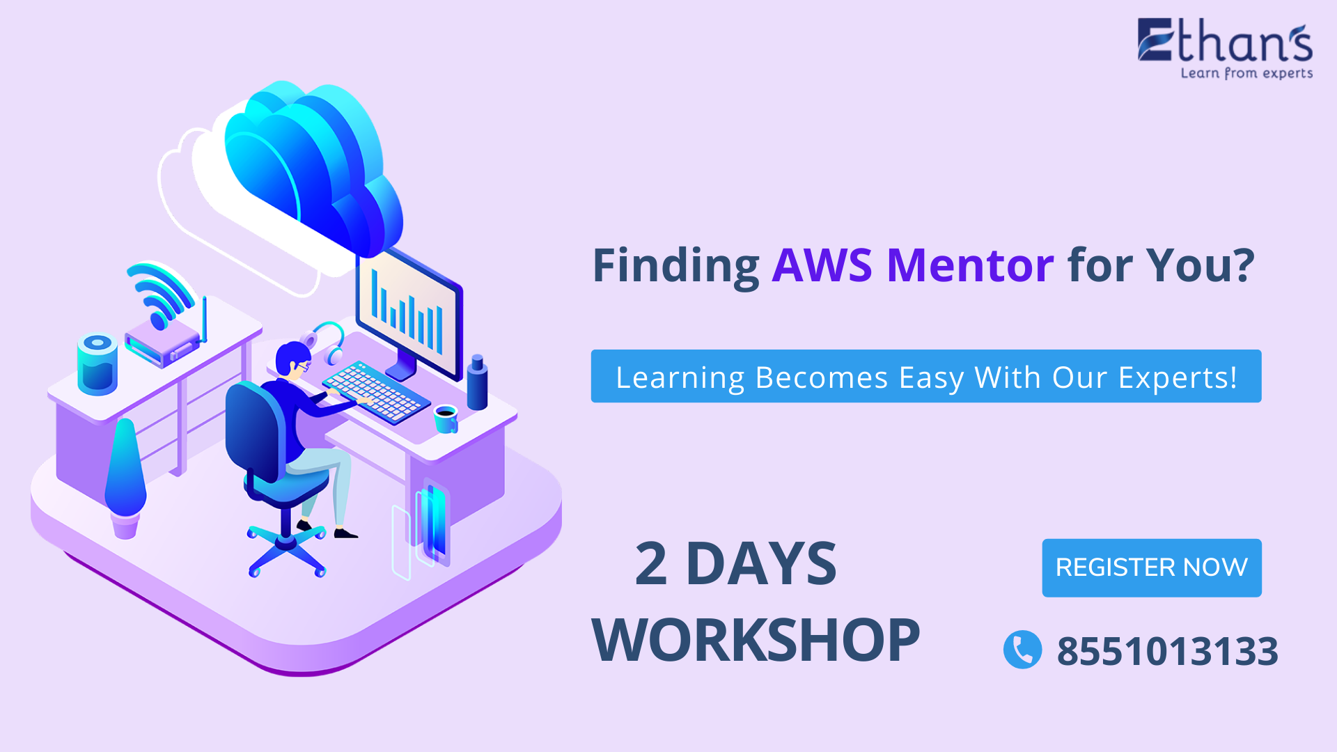 AWS Cloud Computing – Two Days Online Workshop
