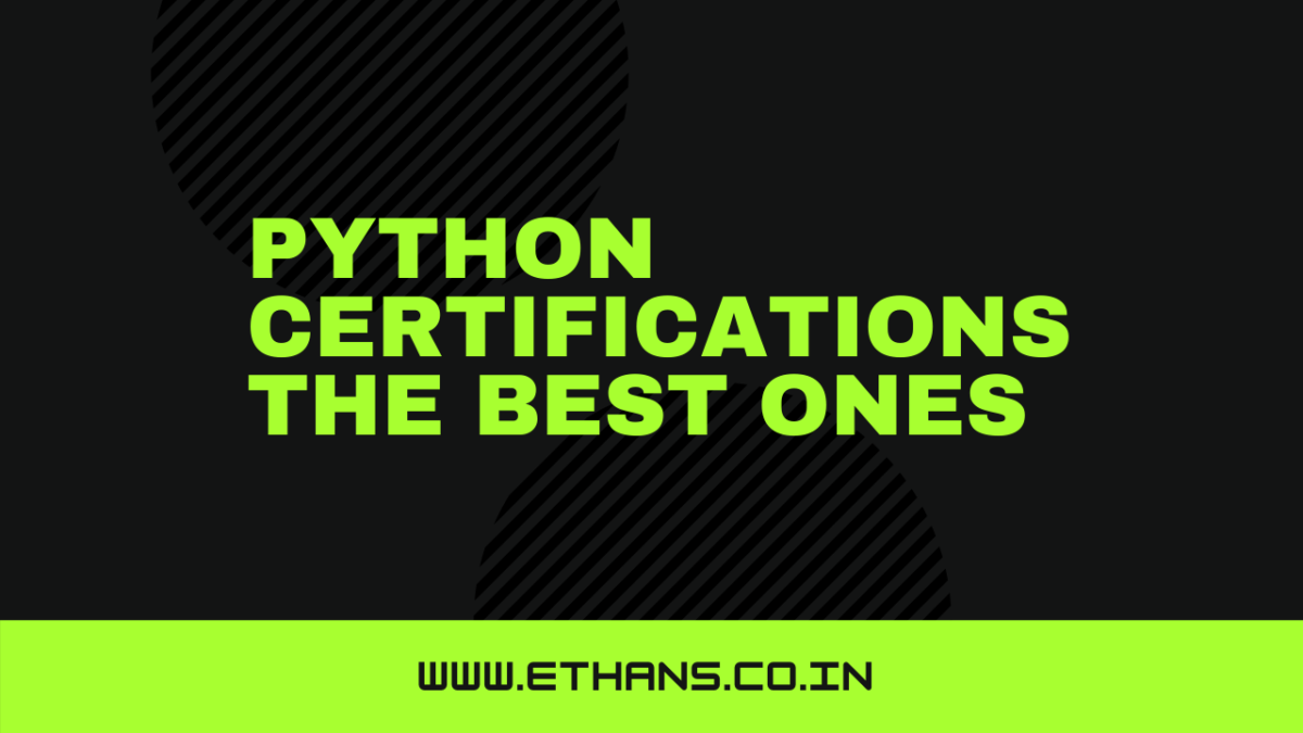 Python Certifications: The Best Ones